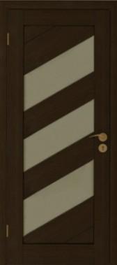 Eko faneruotes durys, tamsios