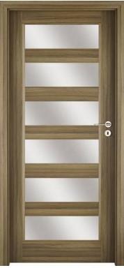Laminuotos durys, su stiklais